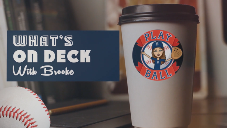 What's on Deck with Brooke: Tigers @ Astros (VIDEO)