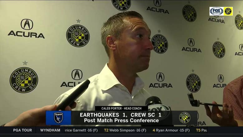 Caleb Porter couldn't be more proud of resiliency, hunger in the Crew