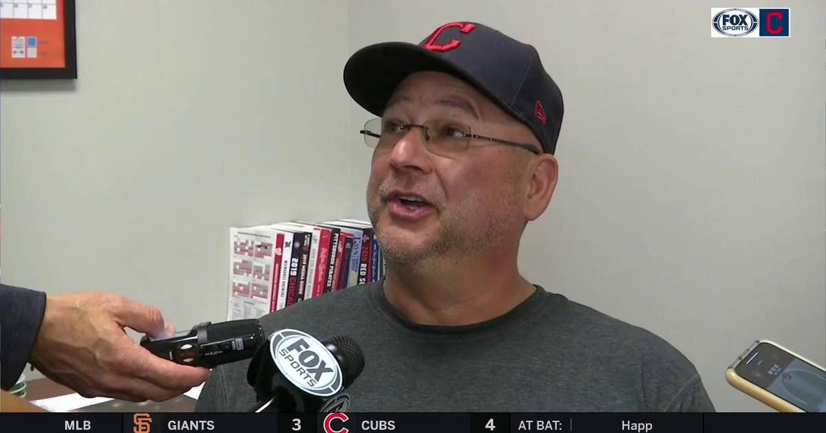Terry Francona says Bieber was pretty good, Mercado 'just missed' catch