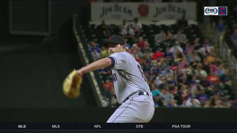 WATCH: Aaron Civale holds his own vs. Syndergaard in another solid outing