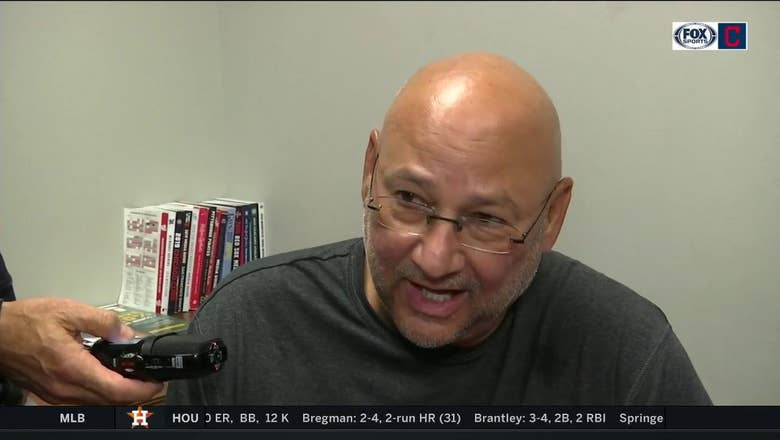 Terry Francona impressed with Aaron Civale's composure vs. Syndergaard