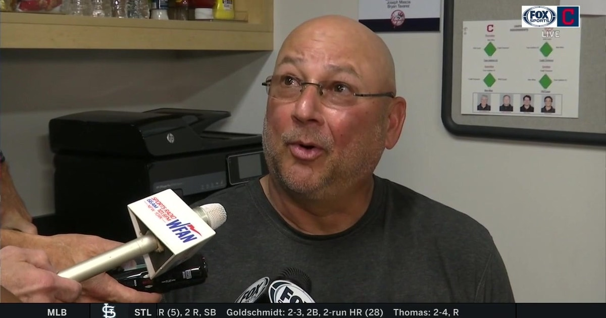 Terry Francona breaks down Mike Clevinger's outing against the Yankees