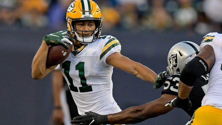Packers trade receiver Trevor Davis to Raiders