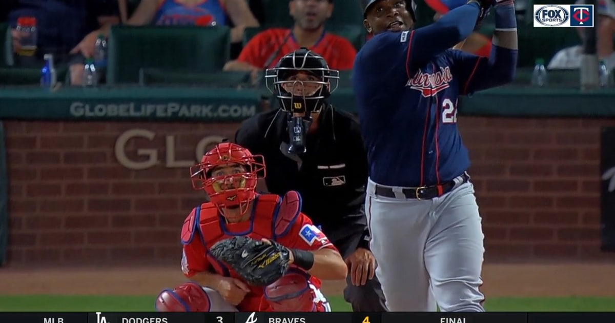 WATCH: Miguel Sano hits booming 2-run homer in Twins' win over Rangers
