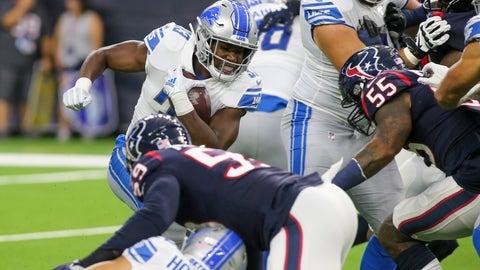 NFL: Preseason-Detroit Lions at Houston Texans