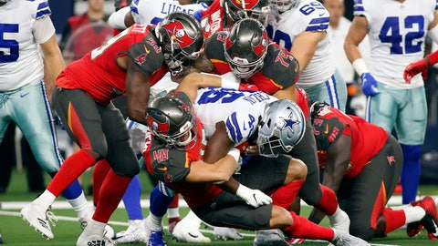 NFL: Preseason-Tampa Bay Buccaneers at Dallas Cowboys