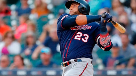 Nelson Cruz, Twins designated hitter (↑ UP)