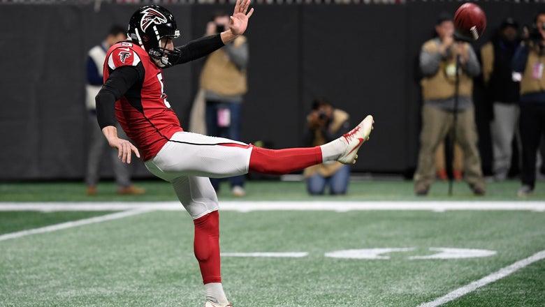 Falcons sign former Vikings punter Wile as Bosher's backup