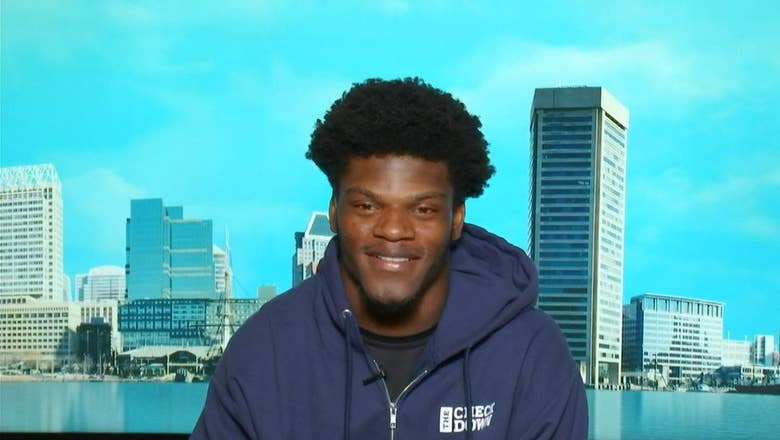 Lamar Jackson talks Ravens' dominant Week 1 win and his instant connection with 'Hollywood' Brown