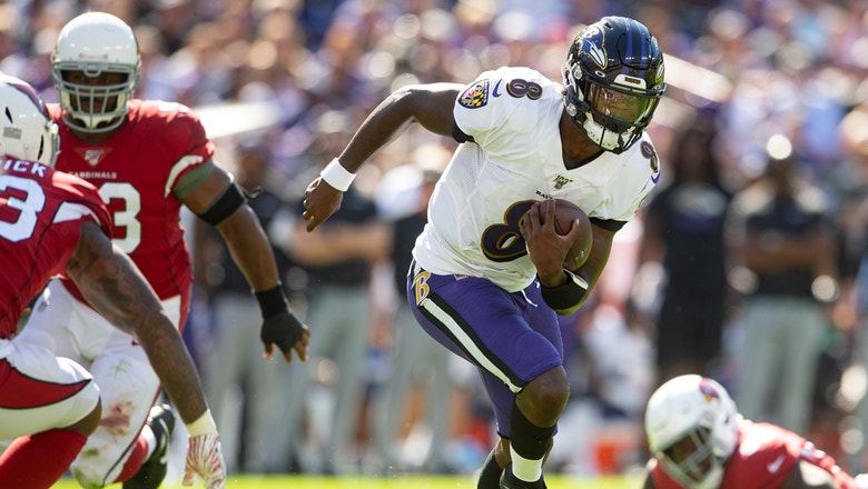 Shannon Sharpe on Lamar Jackson's Week 2 performance: 'We've never seen a guy do what he did yesterday'