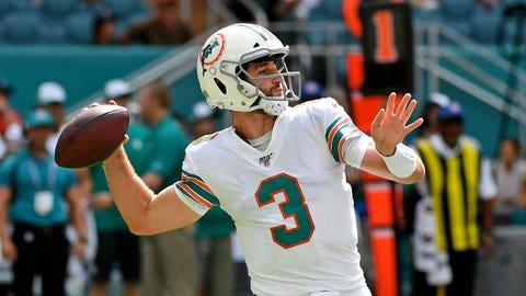 Josh Rosen to start for Dolphins against Cowboys