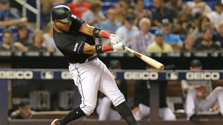 Starlin Castro homers in 3-hit night, but Marlins go down to Nationals in opener