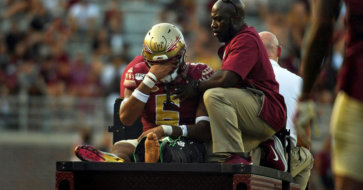 photo relating to Fsu Football Schedule Printable referred to as FSU linebacker Jaiden Lars-Woodbey out for time; James
