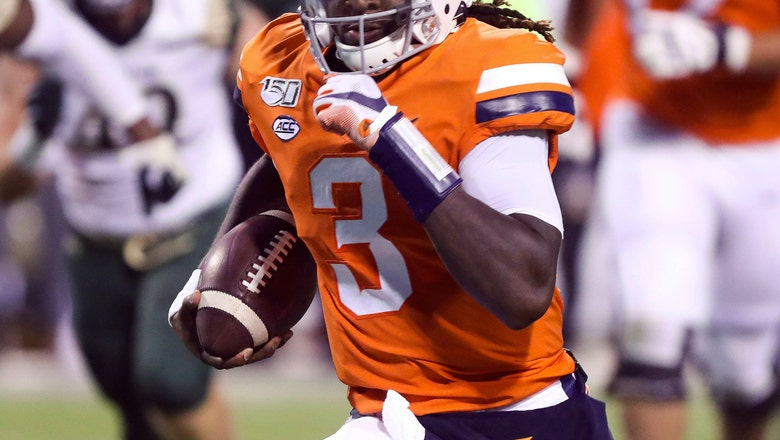 Bryce Perkins' poise key to success for No. 21 Virginia
