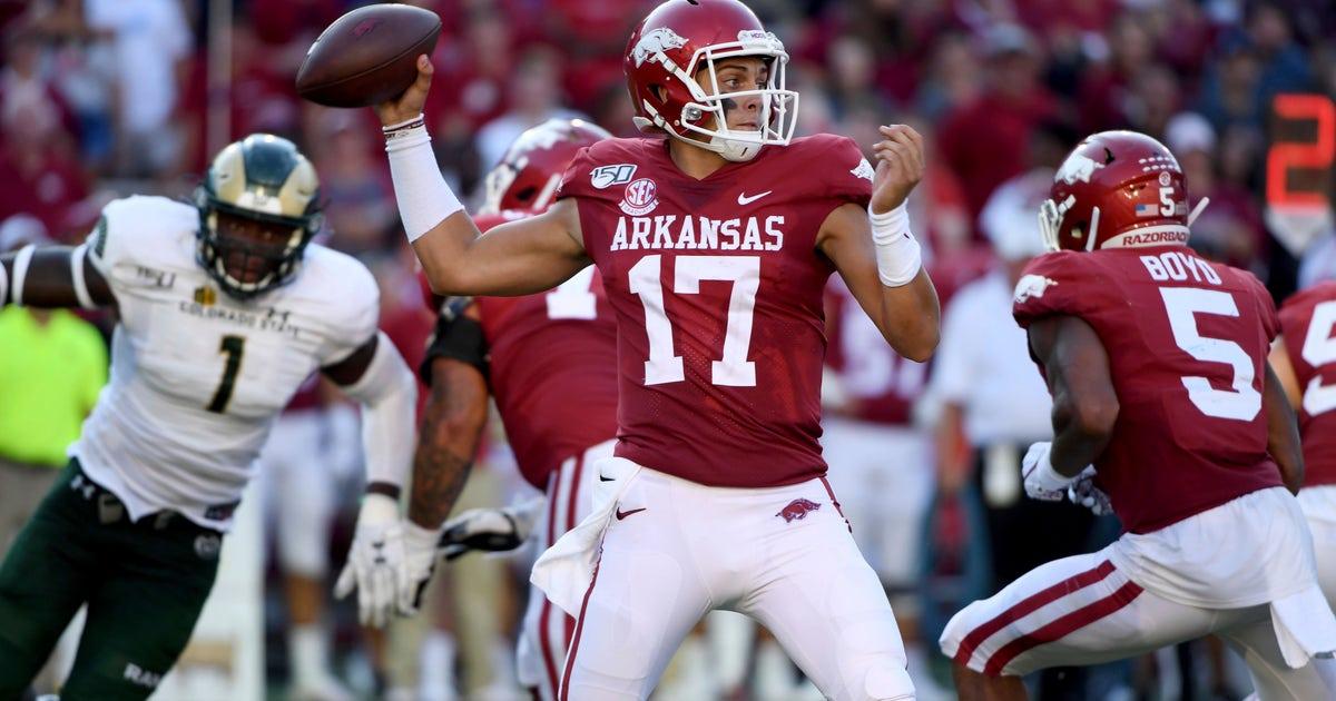Arkansas looks to build momentum against San Jose State   FOX Sports