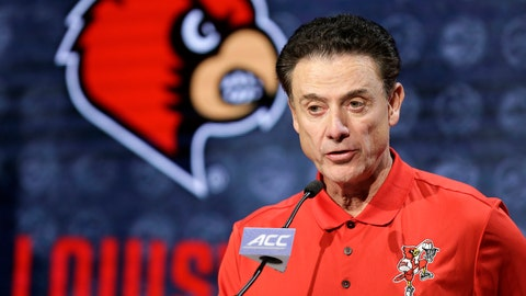 <p>               FILE - In this Oct. 26, 2016, file photo, Louisville NCAA college basketball head coach Rick Pitino answers a question during the Atlantic Coast Conference media day in Charlotte, N.C. The University of Louisville Athletic Association and Rick Pitino have agreed to settle a federal lawsuit, with the former Cardinals men's basketball coach's changing his termination to a resignation. The settlement unanimously approved Wednesday, Sept. 18, 2019, by the ULAA states that Pitino has received compensation and the school agrees not to pursue further legal action. (AP Photo/Bob Leverone, FIle)             </p>