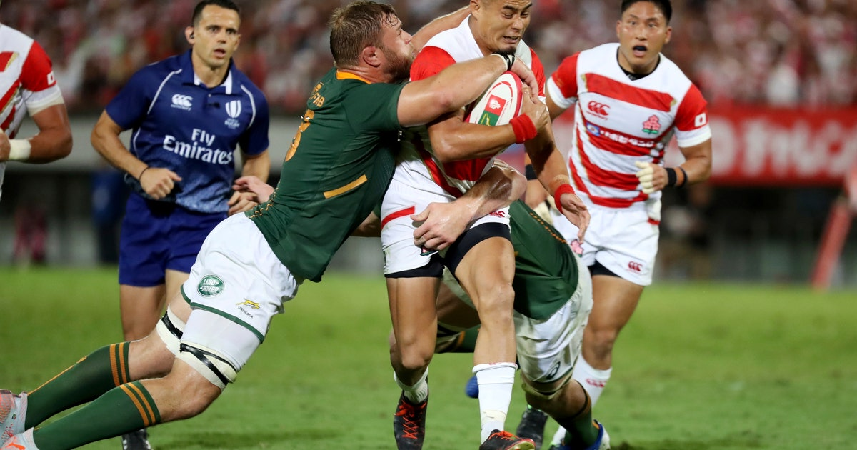 As 1st Asian host, Japan aiming higher at Rugby World Cup