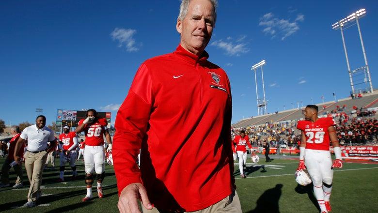 New Mexico's Bob Davie won't make the trip to Notre Dame