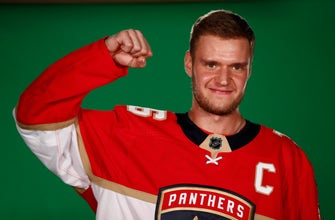 Panthers' Barkov still feels sting of disappointing season