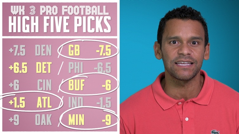 Jason McIntyre's week 3 pro football picks | PRO FOOTBALL PICKS