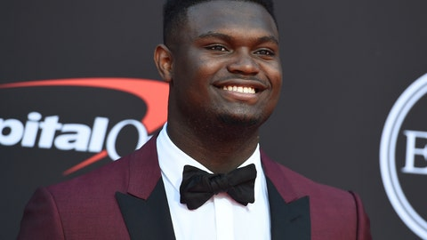 "<p>               FILE - In this July 10, 2019 file photo, Zion Williamson, of the Duke University Basketball team, arrives at the ESPY Awards at the Microsoft Theater in Los Angeles.  Duke says an investigation has found no evidence that Williamson received improper benefits. School spokesman Michael Schoenfeld said in a statement Saturday, Sept. 7,  that a ""thorough and objective"" probe led by investigators outside the athletic department found ""no evidence to support any allegation"" that would have jeopardized Williamson's eligibility. (Photo by Jordan Strauss/Invision/AP, File)             </p>"