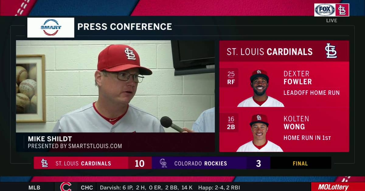 Shildt on Mikolas' start: 'I would classify that as gritty'