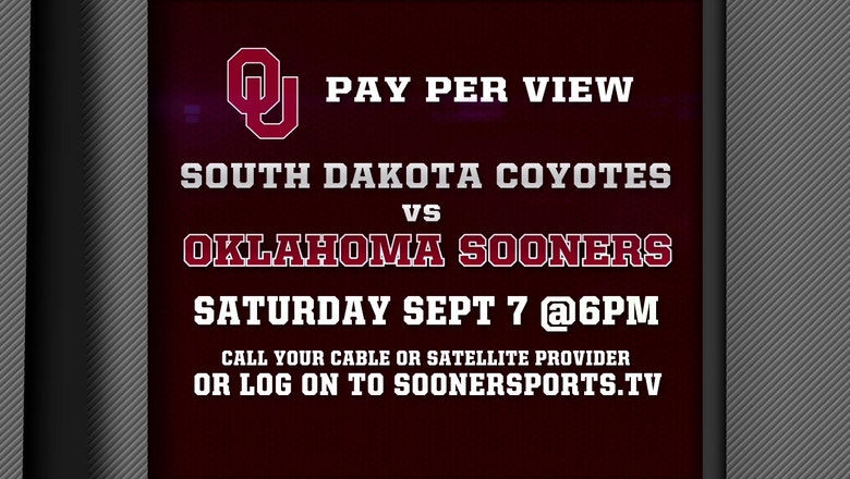 Watch the Oklahoma Sooners Take On South Dakota Today at 6pm Live on PPV