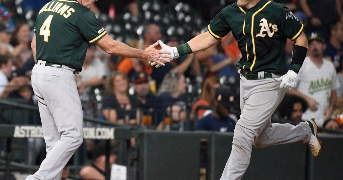 Murphy, Semien HR; Luzardo sharp in debut as A's beat Astros | FOX Sports