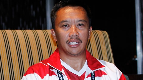 <p>               FIEL - In this Aug. 20, 2017, file photo, Indonesian Youth And Sports Minister Imam Nahrawi attends a press conference with Malaysian Youth and Sports Minister Khairy Jamaluddin in which Jamaluddin apologized to Indonesia for the mistake, which makes the red-and-white Indonesian flag resemble Poland's on a guidebook, in Kuala Lumpur, Malaysia. Nahrawi has resigned after being accused of stealing $1.8 million in public money. (AP Photo/Daniel Chan, File)             </p>