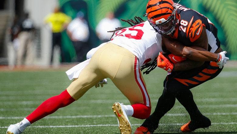 Bengals' Joe Mixon frustrated by 1-yard run average