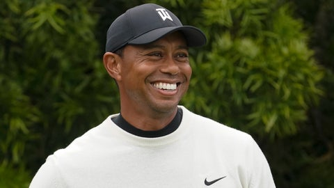<p>               FILE - In this June 12, 2019, file photo, Tiger Woods smiles on the 12th hole during a practice round for the U.S. Open golf tournament in Pebble Beach, Calif. Woods will take part in a Japan Skins game on Oct. 21 that will be shown live worldwide by Discovery-owned GOLFTV. (AP Photo/David J. Phillip, File)             </p>