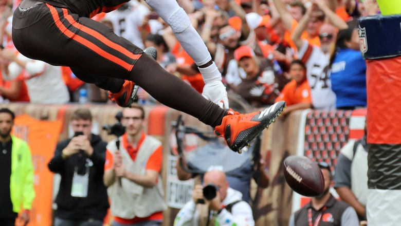 AP source: Browns TE Njoku broke right wrist against Jets