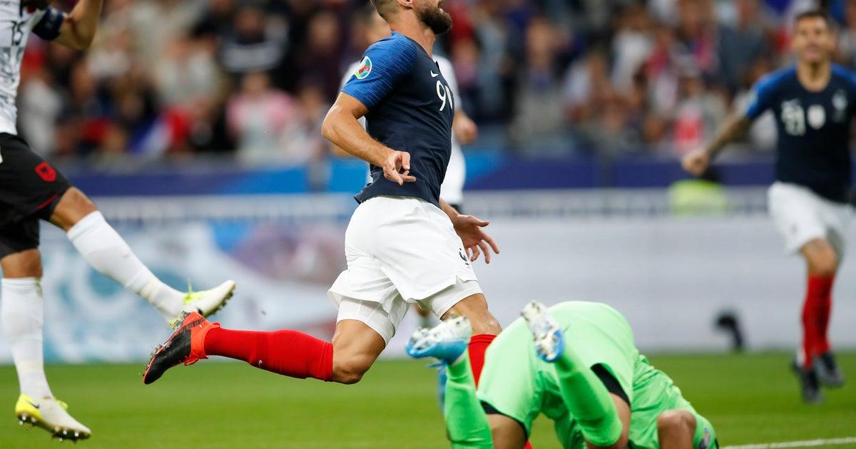 Giroud, Kane and Ronaldo on target in Euro 2020 qualifying   FOX Sports