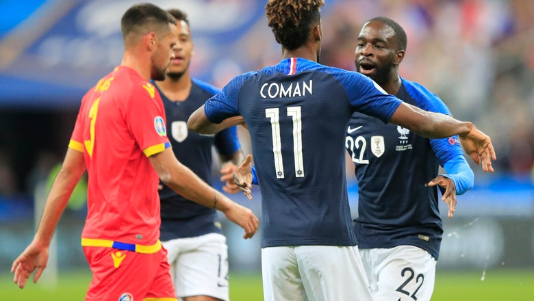 Griezmann misses another penalty as France beats Andorra 3-0