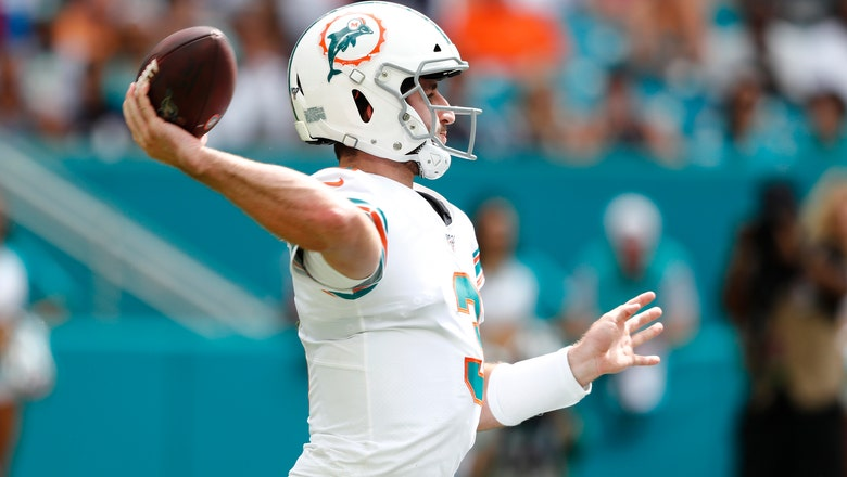 AP source: Rosen to start at QB for Dolphins against Cowboys