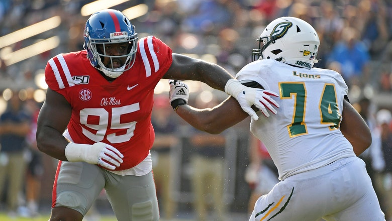 Ealy leads Ole Miss past Southeastern Louisiana 40-29
