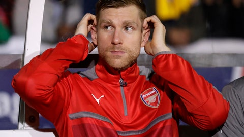 <p>               FILE - In this Monday, Feb. 20, 2017 file photo Arsenal's Per Mertesacker watches from the bench during their English FA Cup fifth round soccer match against Sutton United at Gander Green Lane stadium in London. Arsenal academy head Per Mertesacker says on Wednesday, Sept. 11, 2019 there have been talks with players about the threat posed by gangs after Mesut Ozil and Sead Kolasinac had to fight off knife-wielding men. In an incident caught on camera in London last month, Kolasinac jumped out of a vehicle to confront the masked aggressors, who had pulled alongside the car on mopeds. (AP Photo/Matt Dunham, file)             </p>