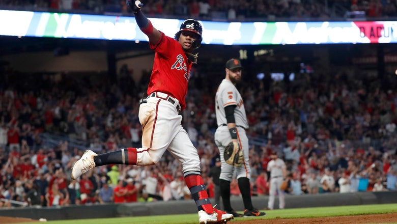 Braves clinch 2nd straight NL East title, eliminate Giants