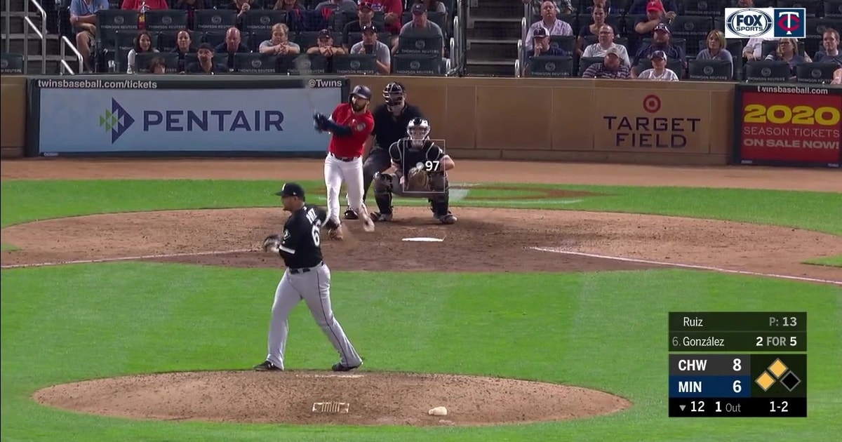 WATCH: Twins rally for three runs in 12th inning to walk off White Sox