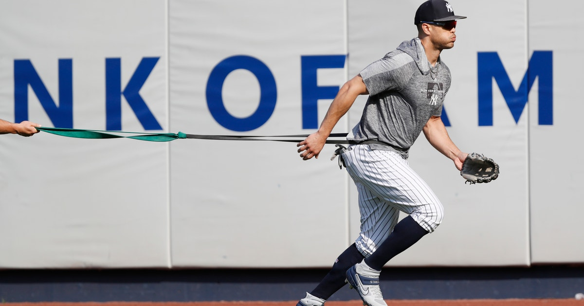 Stanton to increase batting practice ahead of return   FOX Sports
