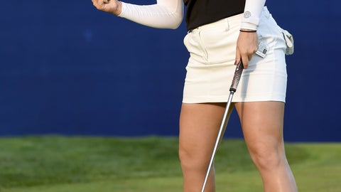 <p>               Hannah Green, of Australia, reacts as she sinks a putt on the 18th hole to win the LPGA Cambia Portland Classic golf tournament in Portland, Ore., Sunday, Sept. 1, 2019. (AP Photo/Steve Dykes)             </p>