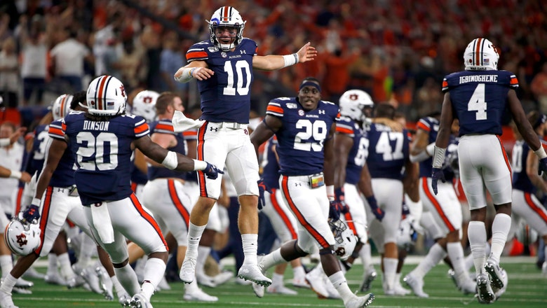 No. 8 Auburn hosts Kent State after last-minute win