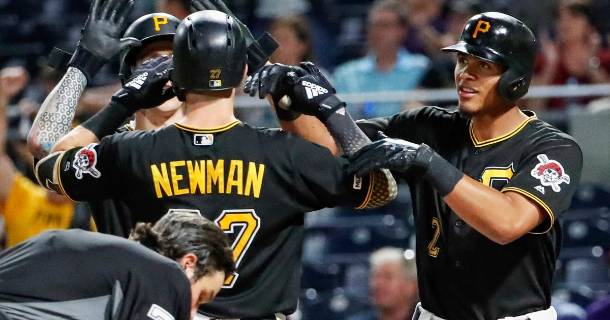 Newman homers twice as Pirates rally past Reds 6-5 | FOX Sports