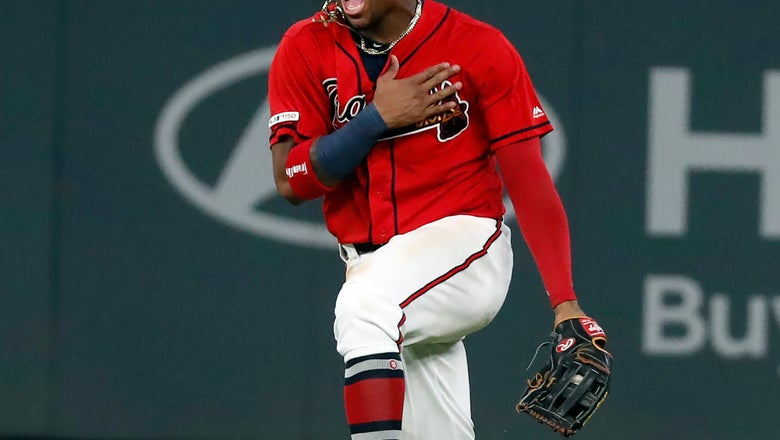 Braves beat Giants 6-0, clinch 2nd straight NL East title