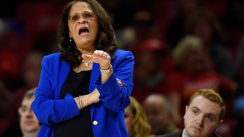 <p>               FILE - In this Dec. 31, 2018, file photo, Rutgers coach C. Vivian Stringer directs her team during the first half of a NCAA basketball game against Maryland, in Baltimore. Stringer is back with a new outlook on life after having to step away at the end of last season because of exhaustion. Rutgers' Hall of Fame women's basketball coach said doctors told her last February that she ought to take the time to rest. She listened, missing the end of the Scarlet Knights' season that finished with a loss to Buffalo in the opening round of the NCAA Tournament. (AP Photo/Gail Burton, File)             </p>