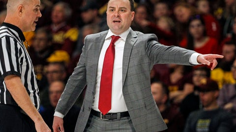 <p>               FILE - In this Saturday, Feb. 16, 2019 file photo, Indiana head coach Archie Miller yells to his team during an NCAA college basketball game against Minnesota in Minneapolis. Coach Archie Miller expects the Indiana Hoosiers to look and play differently this season. He has a bigger, stronger, more experienced roster. He expects better ball movement. And it all starts with more communication. (AP Photo/Bruce Kluckhohn, File)             </p>