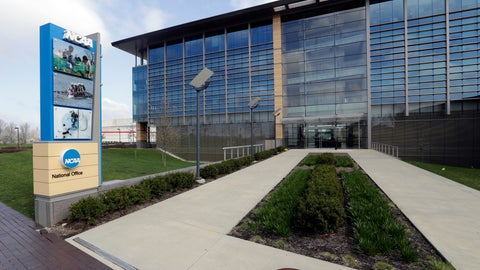 <p>               FILE - This is an April 25, 2018, file photo showing NCAA headquarters in Indianapolis. The NCAA wants a level playing field for all athletes, even if state law proposals threaten its longtime model for amateur sports. With the California assembly considering a potentially landmark measure that would allow athletes at state colleges and universities to profit from the use of their names, likenesses and images, an NCAA working group is trying to figure out how to respond. (AP Photo/Darron Cummings, File)             </p>