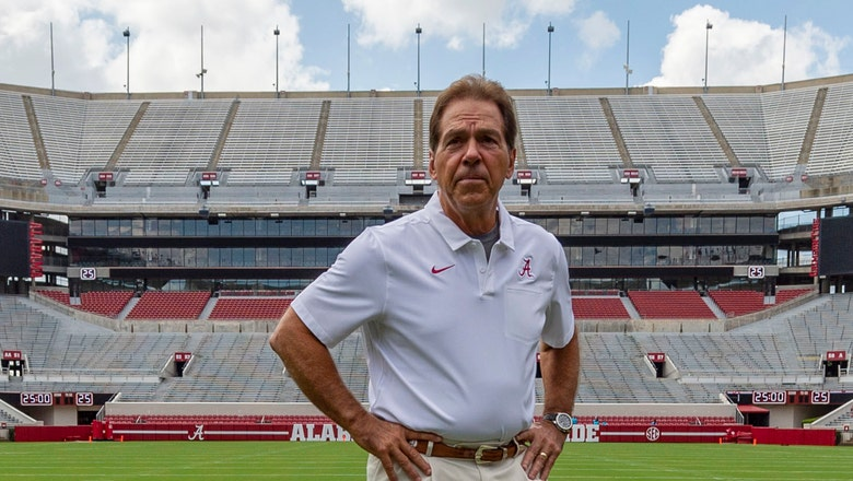 No. 2 Alabama faces New Mexico State in home opener