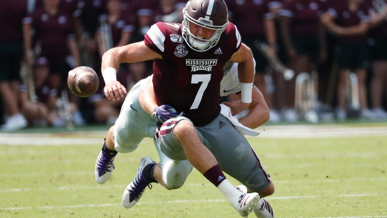 Thompson leads Kansas State past Mississippi State 31-24