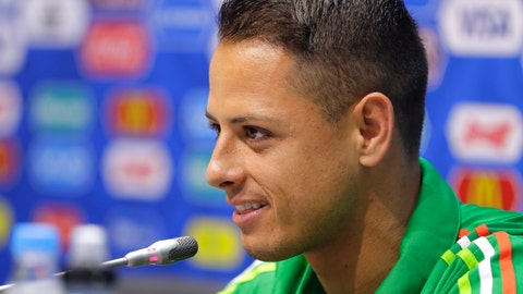 "<p>               FILE - In this Wednesday, June 28, 2017 file photo, Mexico's Javier Hernandez speaks during a news conference at the Fisht Stadium in Sochi, Russia. Sevilla says it has signed veteran Mexico striker Javier ""Chicharito"" Hernandez for the next three seasons to reinforce its attack, it was announced Monday, Sept. 2, 2019. The 31-year-old Chicharito is returning to Spain from English club West Ham, for which he scored 16 goals in 58 matches. (AP Photo/Sergei Grits, file)             </p>"